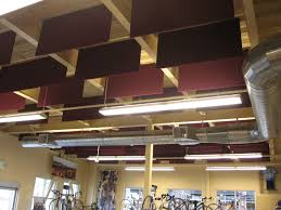 hanging acoustical baffles cotton acoustical baffles echo