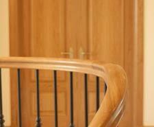 oak handrails for stairs haldane uk timber handrails bespoke