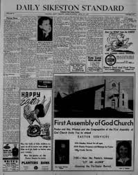 Planters First Online by The Daily Standard From Sikeston Missouri On April 19 1957