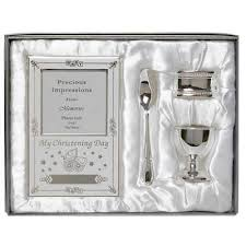 silver plated baby gifts silver plated christening gift set godparent gift baby gifts
