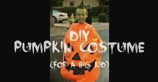 Halloween Pumpkin Costume Adults Diy Pumpkin Costume Big Kid Words