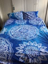 Tapestry Duvet 01 Large Ombre Mandala Tapestry Ele Indian Wall Hanging Bedspread