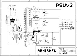 tv power supply smps schematic circuit diagram using buz91
