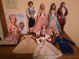 barbie princess pauper updated collection