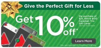 black friday deal on tires rexall canada black friday deals save 10 on canadian tire gift