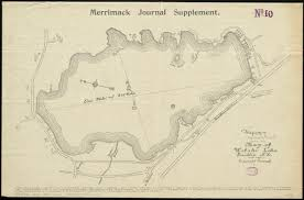 Nh Map Map Of Webster Lake Franklin N H Digital Commonwealth
