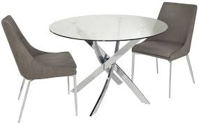small dining table for 2 cluster small circular dining table with 2 chairs chelsom cluster