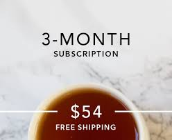 monthly gift clubs best tea of the month club tea of the month gift tea club