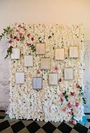 wedding flowers for guests wedding flower wall ideas brides