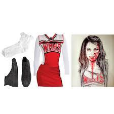 Cheer Halloween Costumes Halloween 2 Zombie Cheerleader Inspired Santana