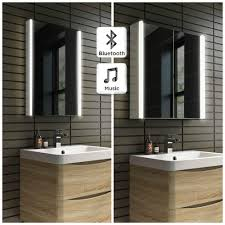 bathroom cabinets led lighted mirrors bathrooms digihome led