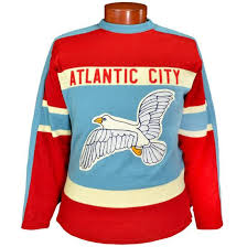 atlantic city seagulls hockey sweater ebbets field flannels