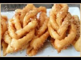 de cuisine orientale pour le ramadan vidéo griweche griwech gateau au miel pour le ramadan