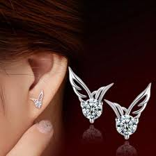 wing earrings 3 pack angel wings earrings s