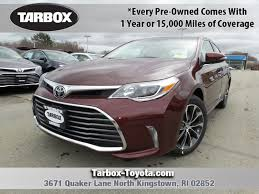 used 2017 toyota avalon for sale north kingstown ri