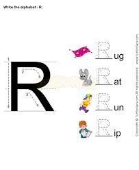 8 best letter r worksheets images on pinterest kids education