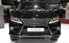 lexus rx models for sale 2013 lexus rx 350 and rx 450h first look 2012 geneva motor show
