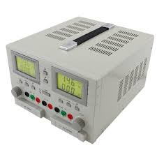 triple output low cost adjustable dc bench power supply