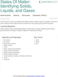 lesson plans for second grade science education com