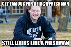 High School Freshman Memes - college freshman dating high school senior