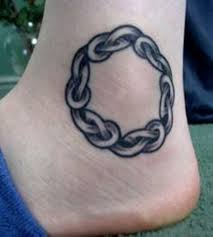 30 cool knot ankle tattoos on ankle