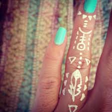 tribal tattoos on fingers design idea for and
