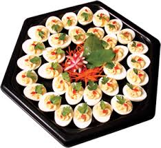 devilled egg plate winegars departments deli trays