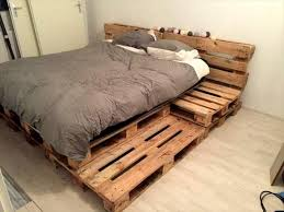 Diy Pallet Bed With Storage by Best 25 Pallet Platform Bed Ideas On Pinterest Diy Bed Frame