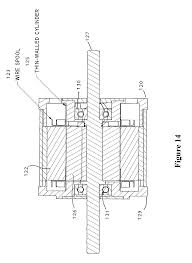 patent us8581452 motor for high temperature applications