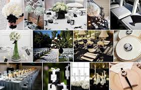black and white wedding decorations unique black and white wedding decorations with black and white