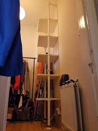 ikea stolmen shelving open storage wardrobe alternative