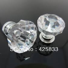 Colorful Kitchen Cabinet Knobs by 10pcs Glass Acrylic Crystal Knobs Drawer Handles Glass Luxury