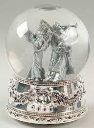 wallace silver musical snowglobe at replacements ltd