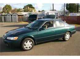 toyota camry green color toyota camry green used of the 1997 at orangevale ca 95662