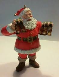 kurt s adler fabriche coca cola santa claus christmas ornament