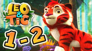 leo and tig all episodes 1 2 new family animated movie 2017