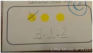 teaching subtraction to the common core in kindergarten little