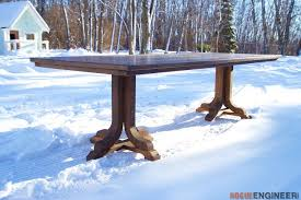 how to make a dinner table how to make a beautiful diy table with syp wood it s real wood