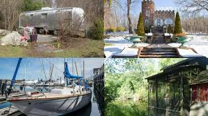 Airbnb Houseboat by The Coolest Places To Stay In Connecticut Through Airbnb