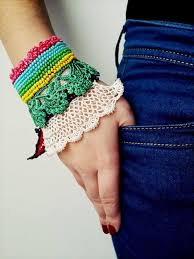 bracelet crochet pattern images 60 eye catching crochet bracelet tutorials diy to make jpg