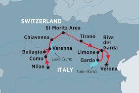 Map Of Portofino Italy by Italian Lakes Discovery Italy Tours Peregrine Adventures Us