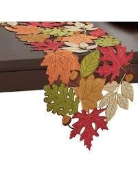 Leaf Table Runner Spectacular Deal On Serene Leaves 108 Inch Table Runner Linen