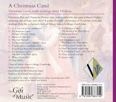 a christmas carol victorian carols with readings from dickens