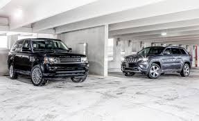 land rover range rover 2010 new vs old 2014 jeep grand cherokee 4x4 overland vs 2010 land