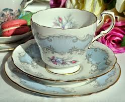 vintage china with pink roses paragon concerto pale blue and pink roses vintage china teacup