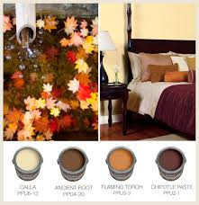 colorfully behr fall color combos