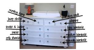 Dresser As Changing Table Brilliant Changing Table Dresser Organization M51 In Home