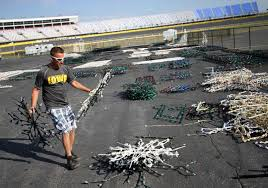 speedway christmas construction begins as charlotte motor speedway