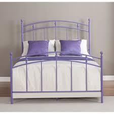 pogo full size lavender bed frame overstock com shopping the