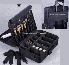 Vanity Box Professional Makeup Artist Bag Waterproof Cosmetics Storage